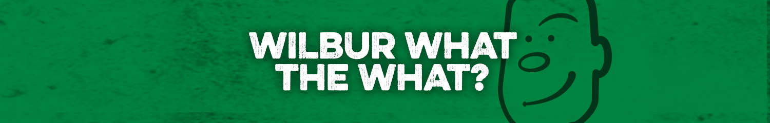 Wilbur What the What header image